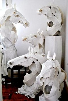 Horse mask (paper)
