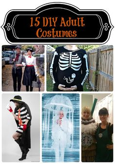 DIY Halloween Costumes...for Adults