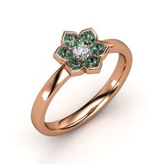 The Modern Flower Ring