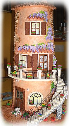 tegole decorate 3d - Buscar con Google Clay Projects, Clay Crafts, Diy And Crafts, Clay Wall Art, Clay Art, Decoupage, Doll House Crafts, Clay Houses, House On The Rock