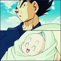 Awe Vegeta, you're going to be wrapped around her finger ❤