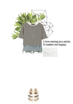 """you make me happy"" by rosa-loves-skittles ❤ liked on Polyvore"