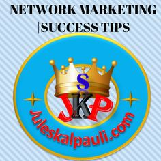 Free Network Marketing, MLM success Tips, MLM lead generation, Network Marketing training all in One Space >> http://juleskalpauli.com/category/network-marketing/ #networkmarketingtips #mlmleadgeneration