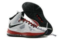 Nike Lebron 10(X) White Black