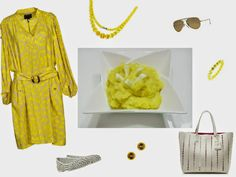 Italian Food and Style: Chemisier giallo..... per essere trendy questa pri...