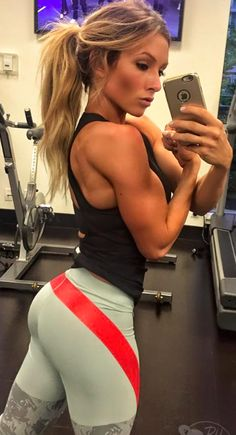 I just adore paige hathaway's arms butt and well everything - incredible shape!