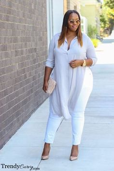 Curvy Girl Fashion Outfits, Plus sized clothing, fashion tips, plus size fall wardrobe and refashion. Fall and Autmn Fashion Outfits Trends for Plus Size. Plus Size Fashion For Women, Plus Size Women, Plus Fashion, Womens Fashion, Fashion Moda, Fashion Photo, Plus Size Dresses, Plus Size Outfits, Curvy Outfits