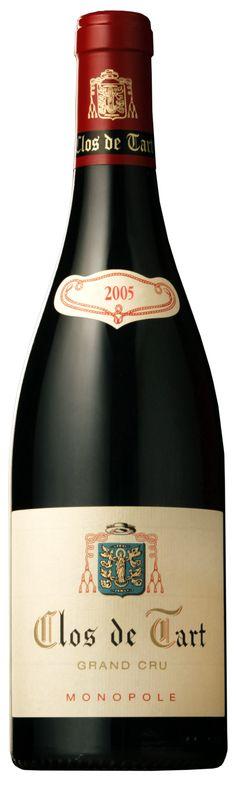 Clos de Tart 2005 - Burgundy  www.clos-de-tart.com