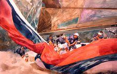 Willard Bond. Plowing Ahead. J. Russell Jinishian Gallery, Inc.