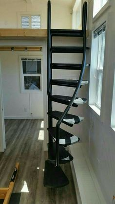 10 crazy tips and tricks: Attic Ideas Apartment-Dachgeschoss. Modular Staircase, Spiral Staircase Kits, Staircase Design, Tiny House Stairs, Attic Stairs, Basement Stairs, Escalier Art, Loft Apartment Decorating, Tiny Loft