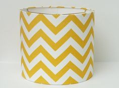 funky yellow chevron with clear base?!