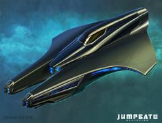 Jumpgate Evolution concept art from Kirk Lunsford