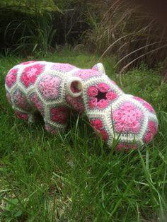 Heidi bears hippo