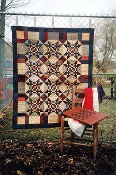 Country Threads :: Patriotic Quilt Patterns :: Patriot Puzzle Quilt Pattern