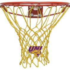 Krazy Netz University Of Northern Iowa Gold Net Basketball Net - KNL2101