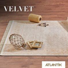 Göz kamaştıran detaylarıyla Velvet sizi evinizde hissettirecek. www.atlantikhali.com