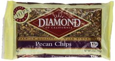 Diamond Pecan Chips, 6-Ounce Bags (Pack of 4) >>> Find out more details by clicking the image : Fresh Groceries