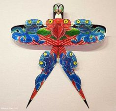 Kites inspired by fish also pop up in Chinese culture. This one is called '5 fish'.
