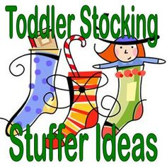 Ideas for Toddler Stocking Stuffers in Christmas Stockings @Chelsey Boatwright Photography Boatwright Photography Boatner