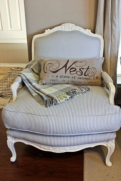 Great tutorial on upholstery