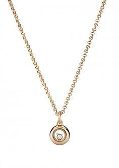 Chopard | Miss Happy Pendant - 18-karat rose gold and diamond | 799010-5001