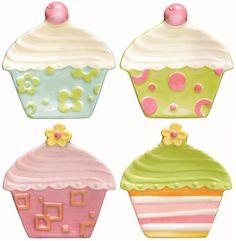Adorable! (Cupcake plates)