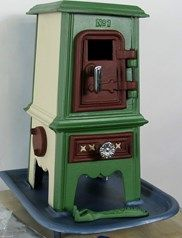 Hand Painted Pipsqueak Stove