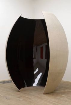 """""""Ishi's Light"""" (2003), by Anish Kapoor. Fibreglass, resin and lacquer. Tate Gallery, London."""