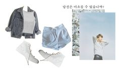 """3. 미소"" by jong-n ❤ liked on Polyvore featuring GUESS, Opening Ceremony, ASOS, infinite and sunggyu"