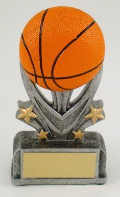 Basketball Sport Star Resin Trophy