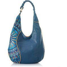 Isabella Fiore Mosaic 'Leila' Hobo Handbag