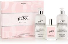 Amazing Grace (You don't need to get the set, I'm just pinning the fragrance. There are different kinds of products and options in this scent).