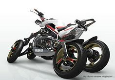 Concept Motorcycles | The Yamaha Tesseract - concept motorcycle - Grease n Gasoline
