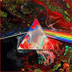 Pink Floyd - Dark Side of the Moon (40th Anniversary alternate cover) #AlbumArt http://on.rhap.com/1d3oLTN