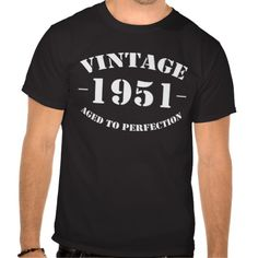 =>>Cheap          Vintage 1951 Birthday Tee Shirts           Vintage 1951 Birthday Tee Shirts Yes I can say you are on right site we just collected best shopping store that haveThis Deals          Vintage 1951 Birthday Tee Shirts Online Secure Check out Quick and Easy...Cleck Hot Deals >>> http://www.zazzle.com/vintage_1951_birthday_tee_shirts-235393071751979448?rf=238627982471231924&zbar=1&tc=terrest