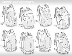 Soft Good Sketches Part 1 by Brad Gressel, via Behance