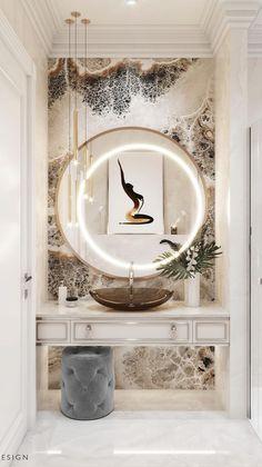Modern Bathroom Design, Bathroom Interior Design, Interior Decorating, Modern Design, Modern Decor, Modern Bedroom Decor, Bathroom Inspiration, Interior Design Inspiration, Bathroom Ideas