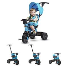 Amazon.com: JOOVY Tricycoo 4.1 Tricycle, Blue: Baby