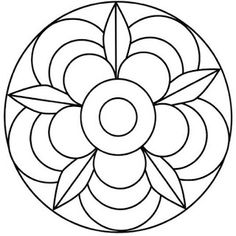 Simple Mandala Flower Coloring Pages. 30 Simple Mandala Flower Coloring Pages. Easy Flower Mandala Coloring Pages at Getdrawings Flower Coloring Pages, Mandala Coloring Pages, Colouring Pages, Adult Coloring Pages, Coloring Sheets, Coloring Books, Stained Glass Patterns, Mosaic Patterns, Simple Mandala