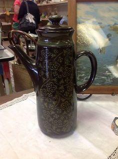 Franciscan China Madeira Pattern Tall Coffee Pot   eBay
