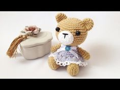 Мастер-класс Мишутка амигуруми (авторская работа)/Master class Amigurumi bear (my own creation) - YouTube