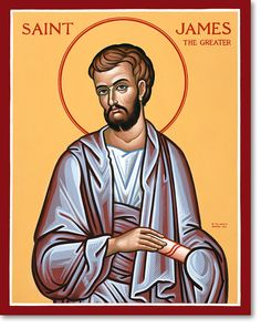 Happy Feast day – July 25 – St James Apostle and... - The Light of Faith
