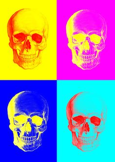 Skull Collage Art Print by NicciJynx