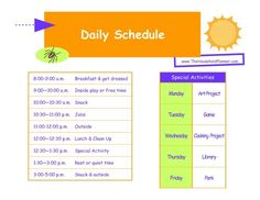 kids home summer schedule | Keeping the Kids in order during Summer Vacation | The Household ...