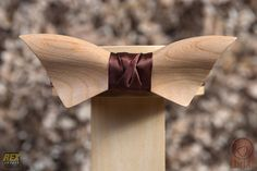 Check out this item in my Etsy shop https://www.etsy.com/listing/270360101/wooden-bow-tie