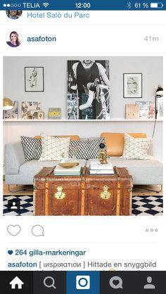 Härlig känsla i den här bilden -får bli inspiration till vardagsrummet!