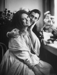 Parejas operísticas: Joan Sutherland y Richard Bonynge.
