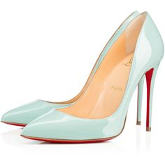 Pigalle follies 100 patent 100 SOURCE Patent - Women Shoes - Christian... (2 585 PLN) ❤ liked on Polyvore featuring shoes, pumps, heels, louboutin, christian louboutin, stiletto heel pumps, christian louboutin shoes, patent leather stilettos and heels stilettos