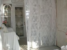 Sandy Foster Cottage | photo by sandy foster from flickr repinned from linens n lace by amy ...