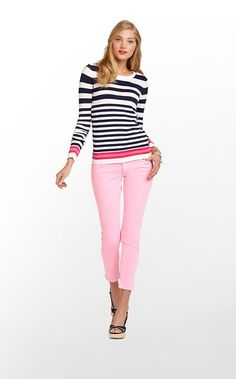pink and blue and stripes. preppy goodness from Lily Pulitzer
